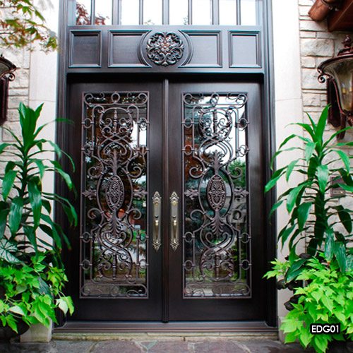 Miliano Design Ltd | Exterior Door Grills | Wrought Iron on Exterior Grill Design id=20875