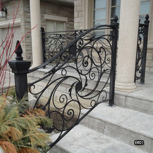 Miliano Design Ltd | Exterior Iron Railings | Wrought Iron