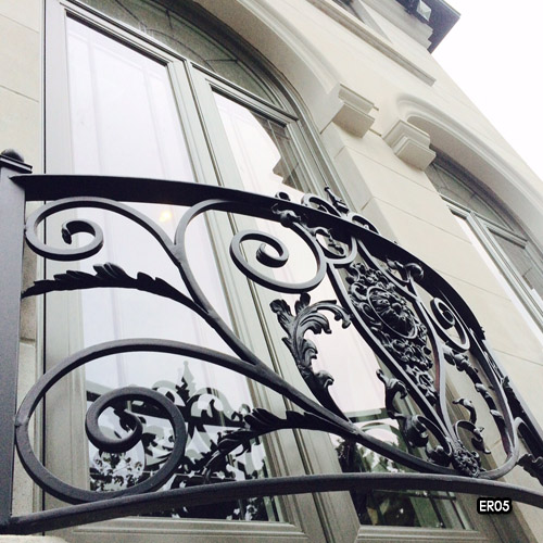 Exterior Iron Railings