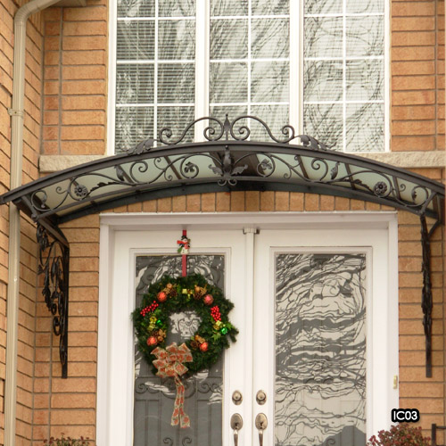 Wrought Iron Canopies