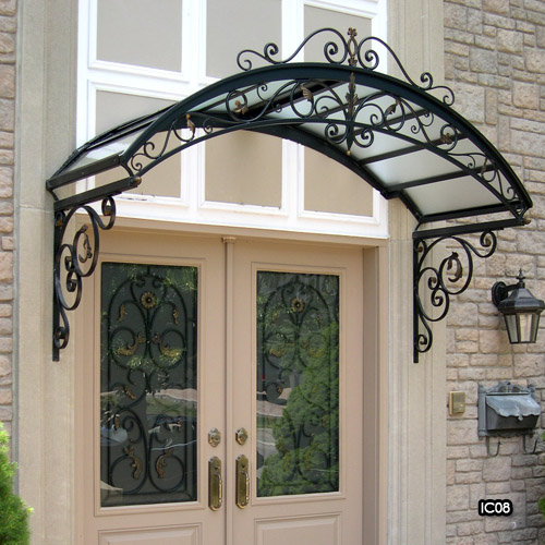 ... Wrought Iron Canopies ... & Miliano Design Ltd | Wrought Iron Canopies