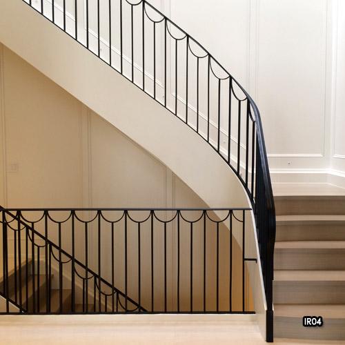 railings iron wrought interior stair indoor