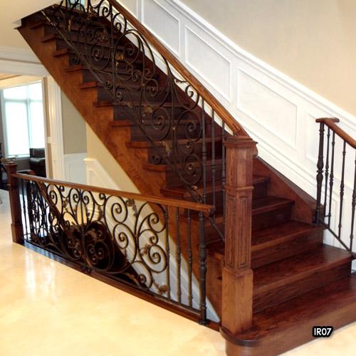 custom iron interior wrought railings international home and fence rail
