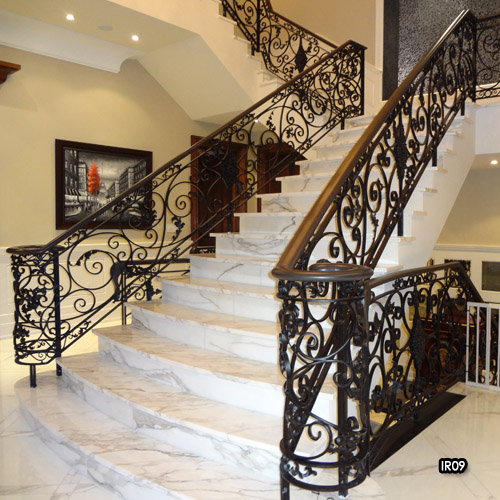 railing railings iron toronto interior and ideas designs wrought