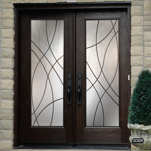 Miliano Design Ltd Sealed Door Inserts Wrought Iron